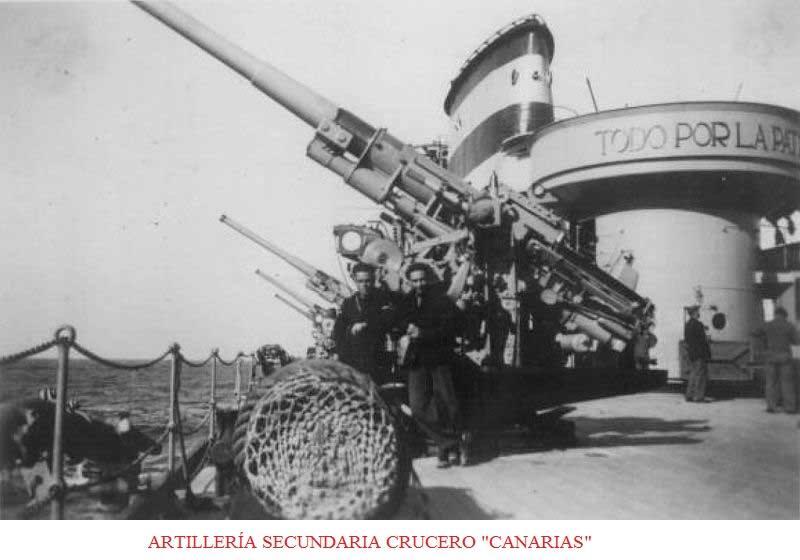 flota Artilleria-secundaria