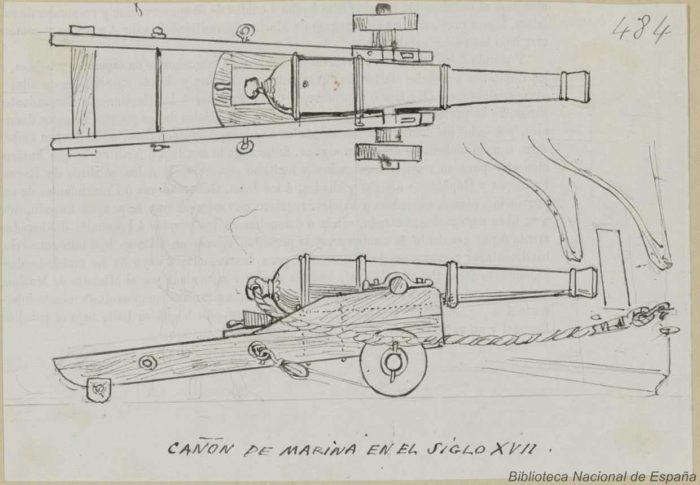Cañón-Siglo-XVII