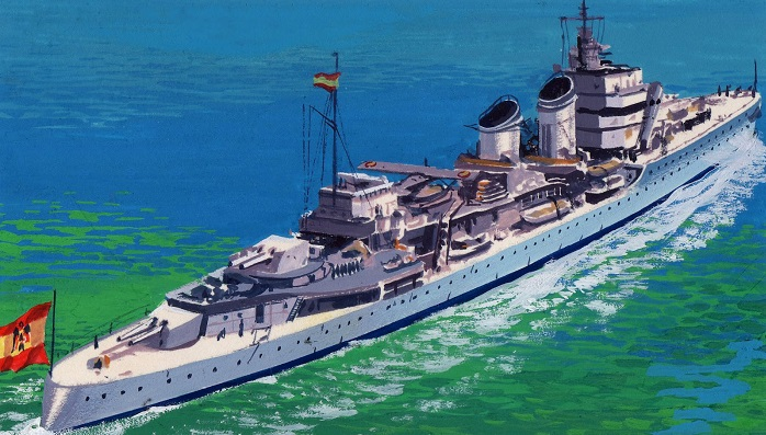posguerra buque-cervantes
